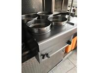4 pot whet bainmarie commercial catering kitchen equipment restaurant takeaway kebab shop grill