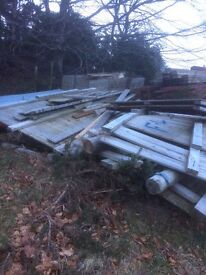 Dismantled Wooden Stables