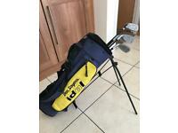 Ben Sayers Kids Golf Set with Stand Bag
