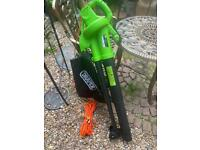 2in1 garden leaf blower / vacuum new never used