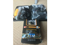 HD Camera (Like GO Pro) and accesories