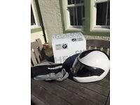 BMW System 6 EVO Helmet XL 64/65 (white, as new, boxed, helmet bag, spotless inside and out)