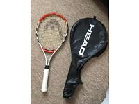 Head tennis racket new condition