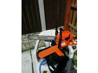 Parker 20in petrol chain saw