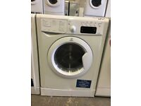 Indesit IWDE7168 Freestanding Washer Dryer in White