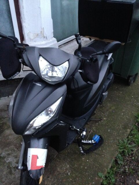 Honda Vision 120 Cc Fully Ready For Ubereatdeliveroojust Eatpizzaparcel Deliveries In Eastham London Gumtree