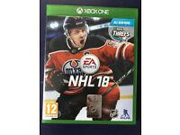 NHL 18 Xbox One Game