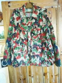 Swiss Army camo jacket for sale