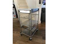 Ikea (Grundtal) Kitchen Trolley