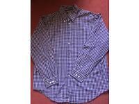 Tommy Hilfiger blue check shirt