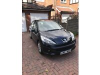 57 plates Excellent condition Peugeot 207 ,, 1.4 and 56000 mileage.