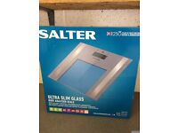 Salter digital bathroom scale