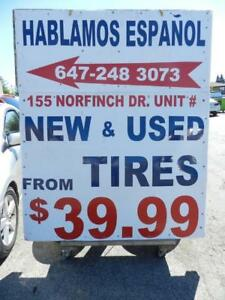 USED TIRE SALE EVENT!! FREE INSTALLATION AND BALANCE!!! PLUS FREE BRAKE INSPECTION WITH ANY TIRE SWAP!!!