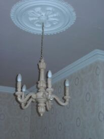 Vintage Centre Light - 5 Arm Chandelier Style (matching wall lights available)