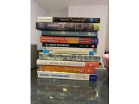 Psychology Textbook Bundle (perfect for any new University Student in September)