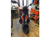 50cc 2 stroke scooter