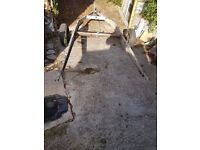 Caravan chassis trailer for sale