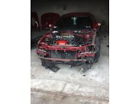 Celica gt 1994 chasis with engine parts and interior