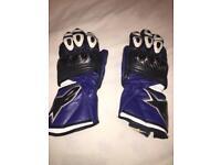 Alpinestars motorbike gloves