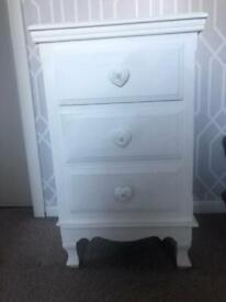 Solid beside drawers
