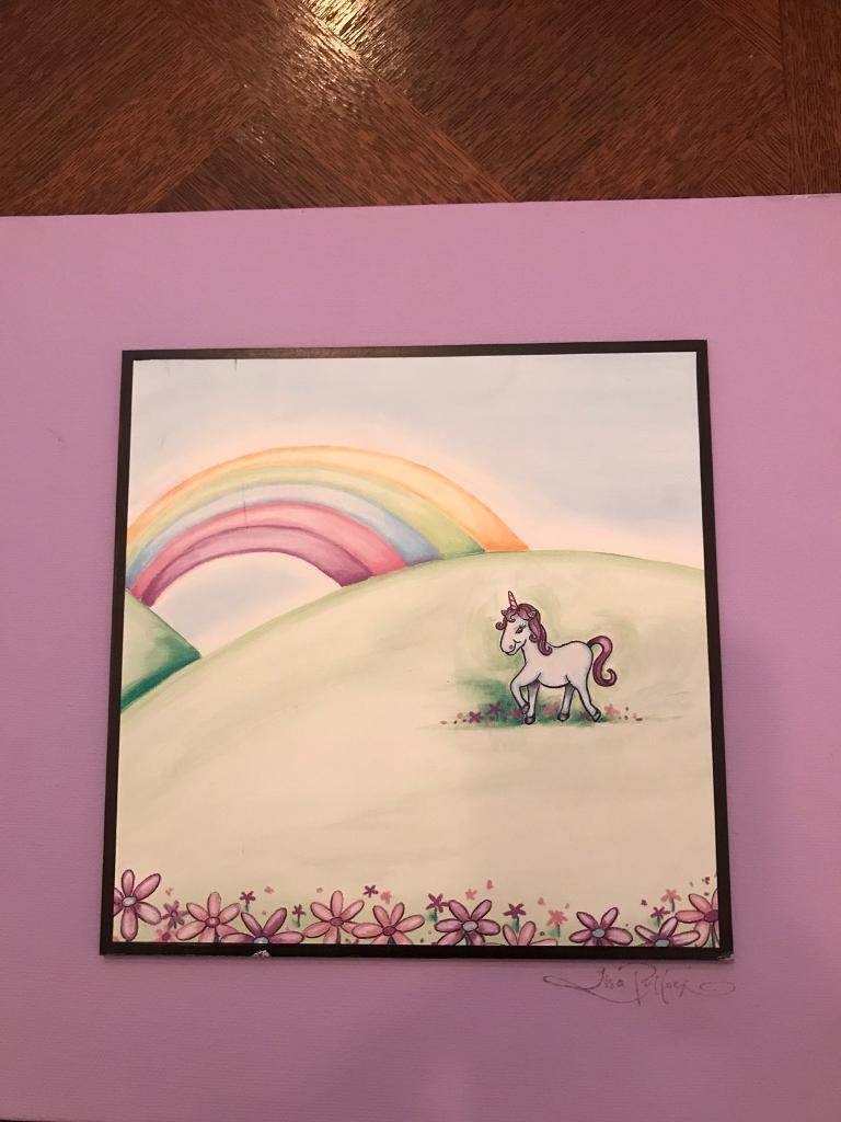 Unicorn Canvas picture