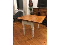 Folding Antique Oak Table Beautifully Restored