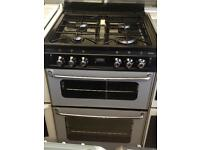 Stoves 60cm Gas cooker with glass lid