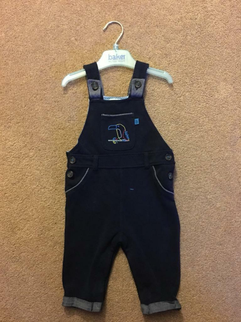 Ted Baker dungarees 6-9 Months
