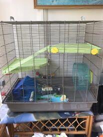 Rat/chinchilla cage