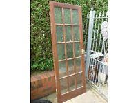 Glazed Hardwood Internal Door