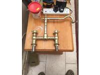 Kitchen sink mixer taps £25