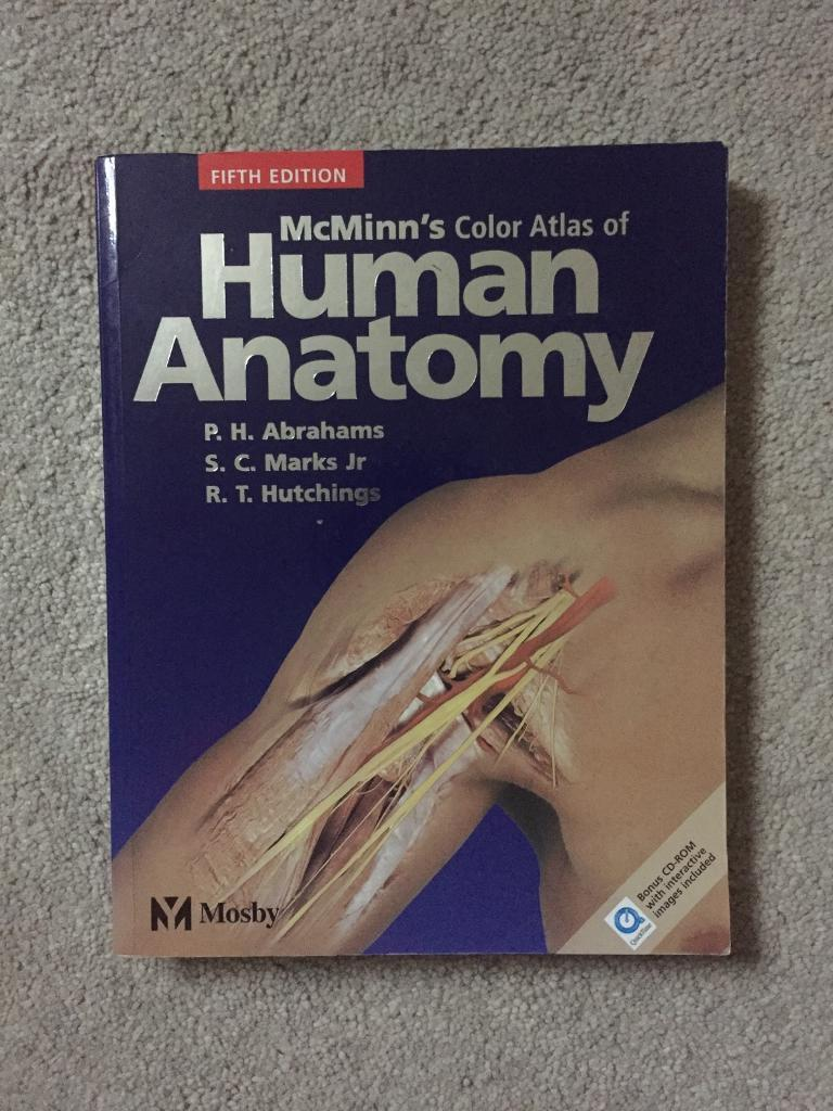 Mcminns Color Atlas Of Human Anatomy 5e In Cambridge