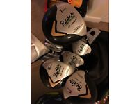 Golf clubs and bag, full set and extras