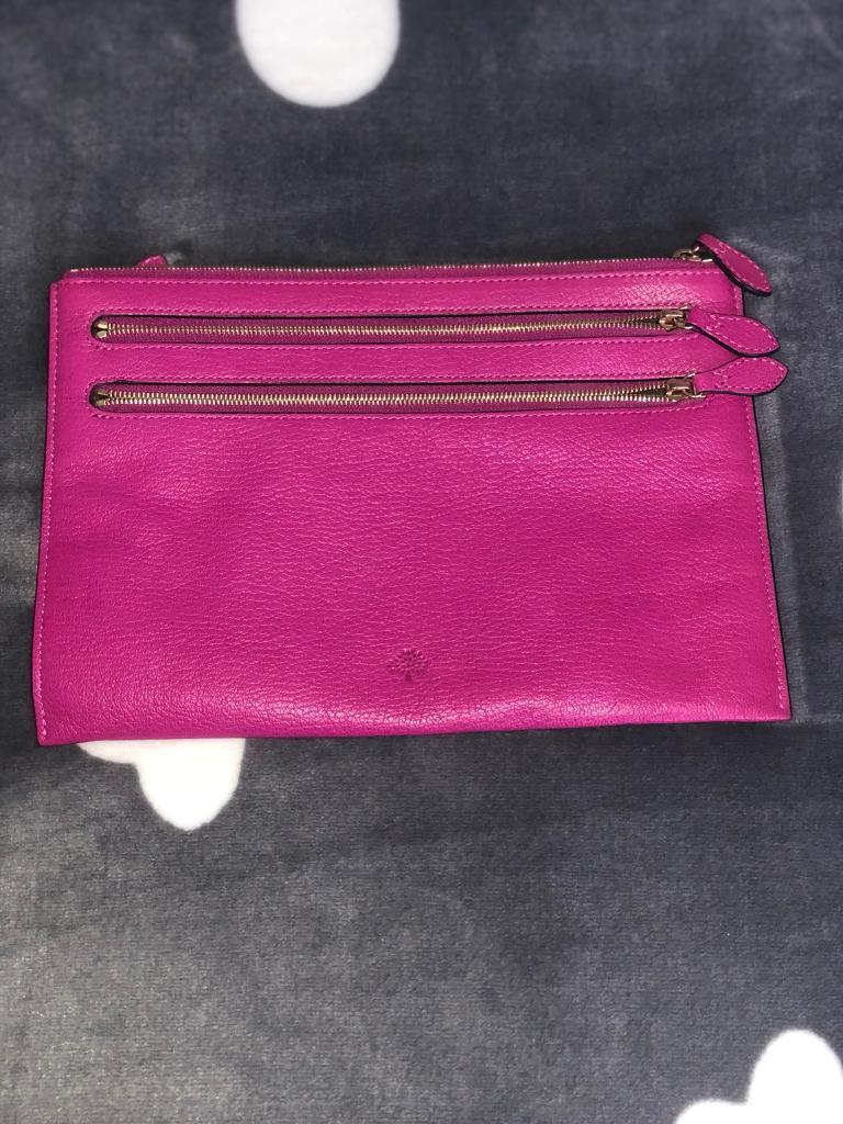 c87881af4b6 MULBERRY SMALL LEATHER CLUTCH (RRP265in Wombwell, South Yorkshire - Real  Pink Mulberry Leather Clutch