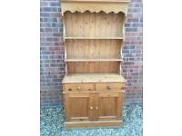 Solid chunky pine Welsh dresser. Dovetail Joints. I