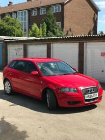 Audi A3, Diesel 1.9, red 5 door