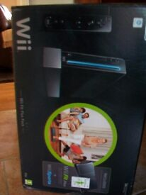 Wii fit plus,still boxed black edition