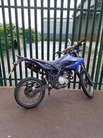 Yamaha wr125cc Blue