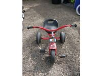 Small Kids tricycle / Go kart pedal bike