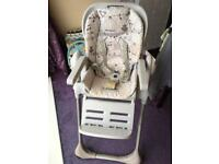 Chicco comfy Polly easy high chair