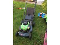 Self propelled lawn mower