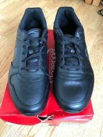 5f60cbb75 Slazenger classic men s black charcoal trainers uk size 9.5
