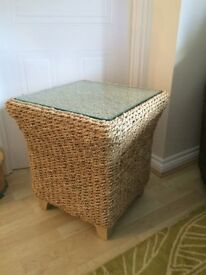 Two Conservatory / lounge side tables