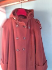 Stunning Betty Jackson Was Jacket - Brown size 16 in wool and Kashmir. Beautifully soft and warm,