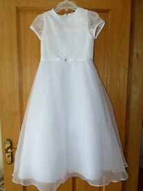First holy communion dress in classic style
