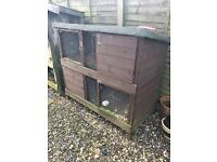 Two tier Rabbit/ guinea pig hutch