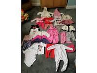 Girls large 3-6 month bundle