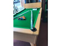 POOL TABLE 7BY4 FREE PLAY