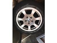 "BMW X3 16"" alloy wheels"