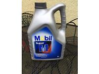 mobil super m 15w40 multigrade oil 5 liters